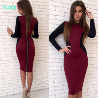 TAOVK  new fashion Russian style Autumn Women's Clothing dresses