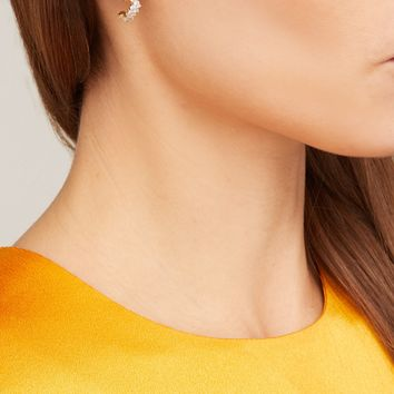 Sadie 18kt gold & diamond earrings | Ana Khouri | MATCHESFASHION.COM US