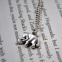 Elephant Necklace by KellyStahley on Etsy