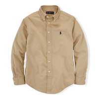 COTTON TWILL BLAKE SHIRT