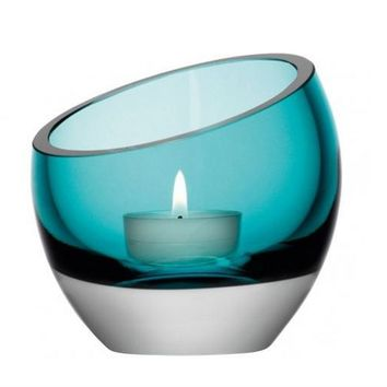 Glass candle holder LAZLO by GAUTIER FRANCE