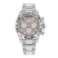 Rolex Daytona 116509 DKLTMD 18K White Gold Automatic Men's Watch