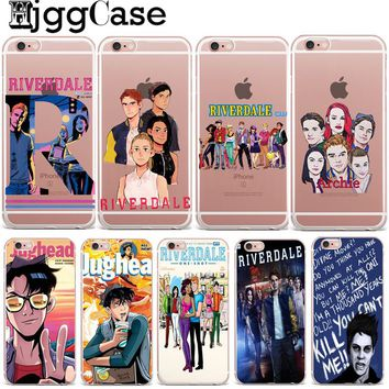 Hot TV Riverdale Soft Clear TPU Phone Case For iPhone X 8 7 6 6S Plus SE 5 5S Silicone Phone Back Cover For iPhone 8 Cases Coque