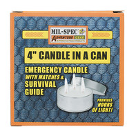 """Voodoo Tactical 4"""" Candle In A Can"""