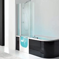 Whirlpool bathtub with shower FOR ALL BOX by HAFRO