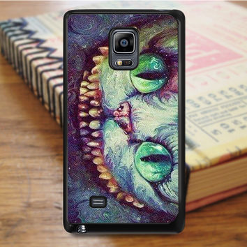 Madhatter Chershire Cat Samsung Galaxy Note Edge Case