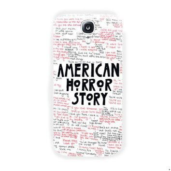 American horror story Quotes Supreme For Samsung Galaxy S4 Case