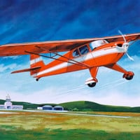 Teaching Pictures Airplane Transportation Poster Childrens School Art