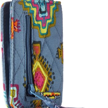 Vera Bradley Women's Iconic Rfid Campus Double Id