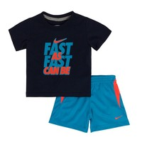 Nike ''Fast As Can Be'' Tee & Shorts Set - Toddler Boy, Size: