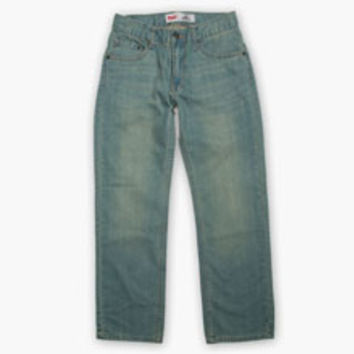 Boys' Levi's Big (8-20) 505 Regular Fit Jeans (Slim) - Anchor - Kids