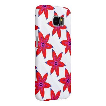 Flowers Samsung Galaxy S6 Case