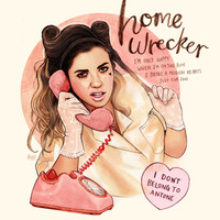 Homewrecker Art Print by Helen Green