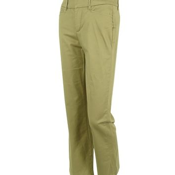 JM Collection Women's Plus No Gap Waistband Cotton Blend Pants