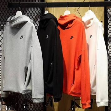 NIKE Women Casual Top Sweater Hoodie Pullover