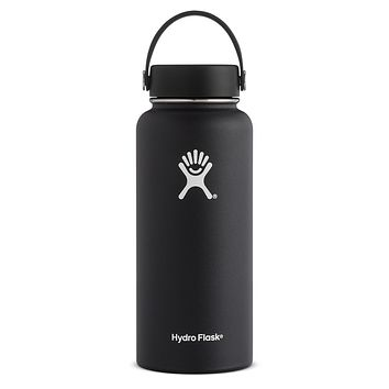32 oz Wide Mouth Hydro Flask - Black