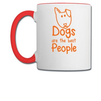 DOGS are the BEST people - Coffee/Tea Mug