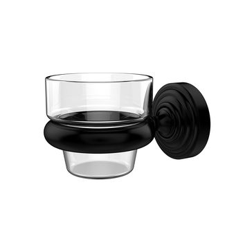 Allied Brass Wall Mounted Votive Candle Holder, Matte Black. WP-64-BKM Waverly Place Collection