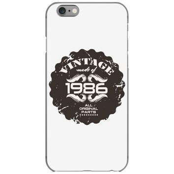 vintage made of 1986 all original parts iPhone 6/6s Case