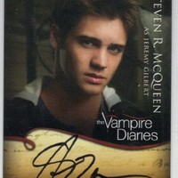The Vampire Diaries Season 1 Jeremy Gilbert Autograph Trading Card A4