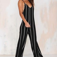 Straight Up Knit Jumpsuit