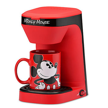 Mickey Mouse 1-Cup Coffee Maker | Disney Store