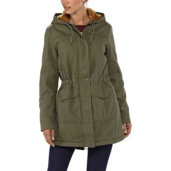 Patagonia Women's Insulated Prairie Dawn Parka | Fatigue Green