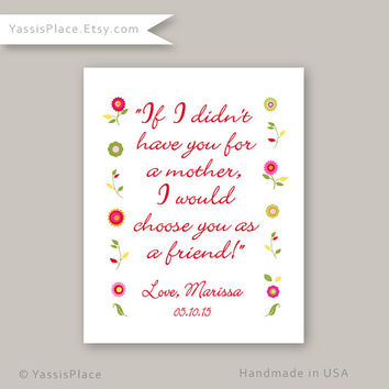Mothers Day Gift, Wall Art, wall decor, poster, Mom Pint, Mom Quote, Moms Day Gift, Mother Quote, Mothers Day Art, Mom Present, New Mom Art