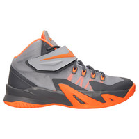 Kids' Grade School Nike Zoom LeBron Soldier 8 Basketball Shoes