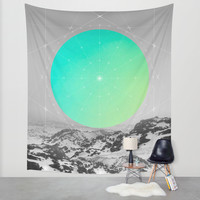 Middle Of Nowhere II Wall Tapestry by Soaring Anchor Designs