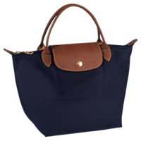 Small handbag - Le Pliage - Handbags - Longchamp - Navy - Longchamp United-States