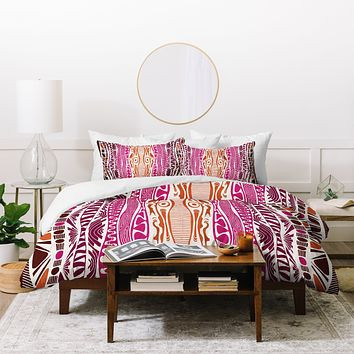 Karen Harris Wavelength Global Duvet Cover