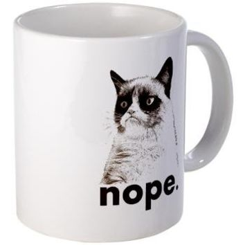GRUMPY CAT - Nope. Mug> LAZY J Studios