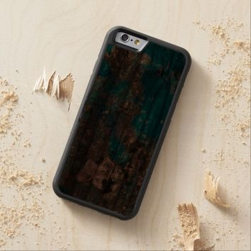 Natural Luxury Gemstone Turquoise Jewellery Carved® Walnut iPhone 6 Bumper