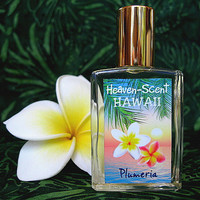 PLUMERIA PERFUME. Custom-Blended Roll-on Perfume. Made in Hawaii. 0.5 fl oz (15 ml).