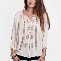 Los Alamitos Embroidered Blouse - New Arrivals - Clothing