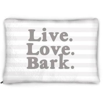 Live Love Bark Dog Bed
