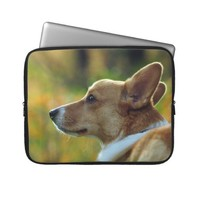 Corgi Laptop Sleeve from Zazzle.com