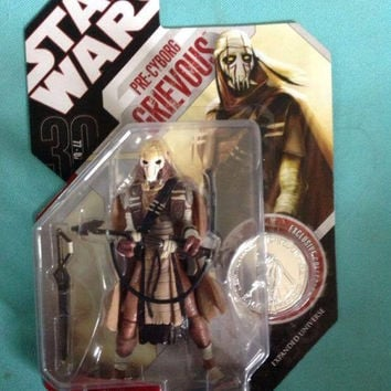 Star Wars 30Th Anniversary Pre-Cyborg General Grievous With Coin (Expanded Universe)