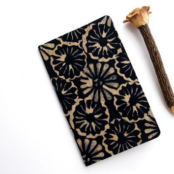 journal with floral print batik cover Moleskine by AtelierYumi
