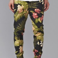 Zespy Pant Black Floral - Bottoms