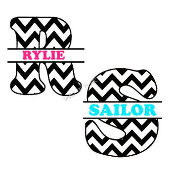 Monogram Decal for Yeti, Name Decal for Yeti, Car Decals for Women, Monogram For Yeti Cup, Monogram Decal for Car, Yeti Cup Decal