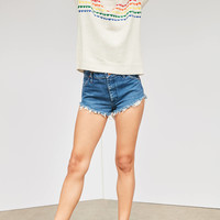 Cooperative Rainbow Hearts Sweater | Urban Outfitters