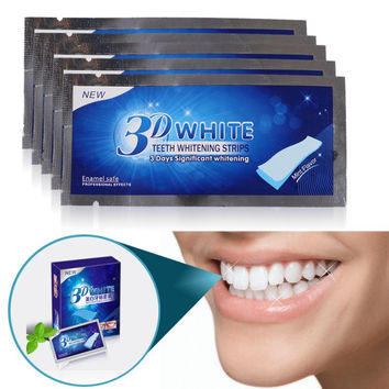 Advanced 3D White Teeth Bleaching  Ultra White Whitening 14 Pairs of Professional Teeth Whitening Strips