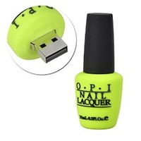Sunworld® Novelty Green 8GB Nail Polish Bottle Shape USB 2.0 Flash Drive Memory stick Gift USA