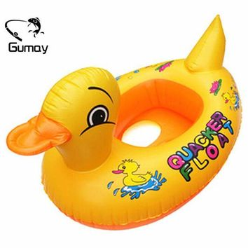 LONMF Gumay Hot Duck Design Cute Kids Baby Child Inflatable Swimming laps Pool Swim Ring Seat Float Boat Water Sports