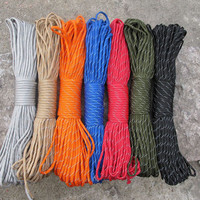 Paracord Rope Outdoor Climbing Cord 100FT/31Meters Cuerda Escalada Mil Spec Type Strand Camping Military Survival tent Equipment
