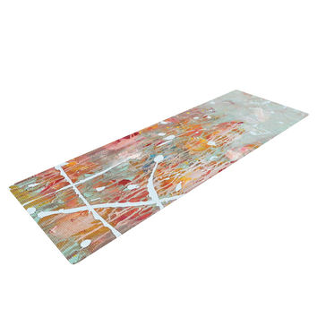 "Iris Lehnhardt ""Joy"" Splatter Paint Yoga Mat"