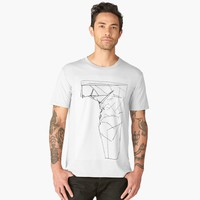 'ROCK' Men's Premium T-Shirt by David Darcy