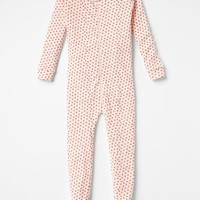 Gap Baby Flower Sleep Footed One Piece